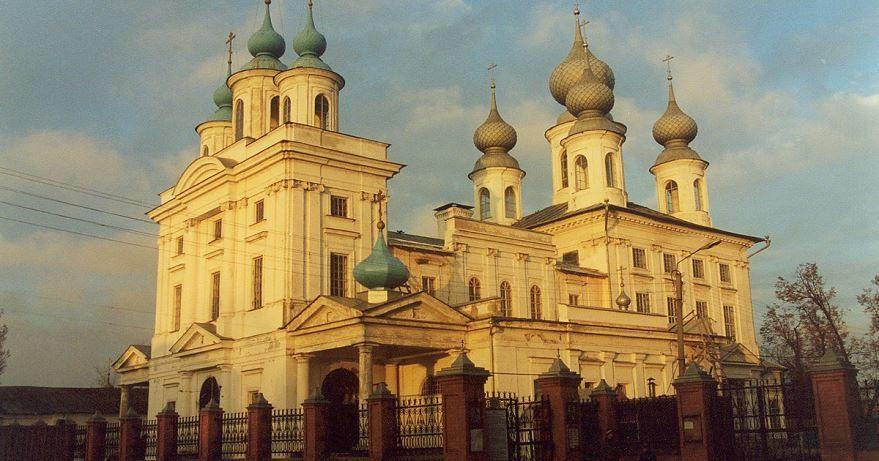 Смотреть красивое фото церковь город Шуя Ивановской области
