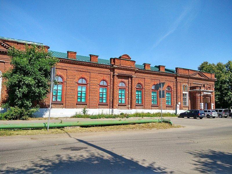 Дом в котором работал Фрунзе в 1917-18 годах город Шуя