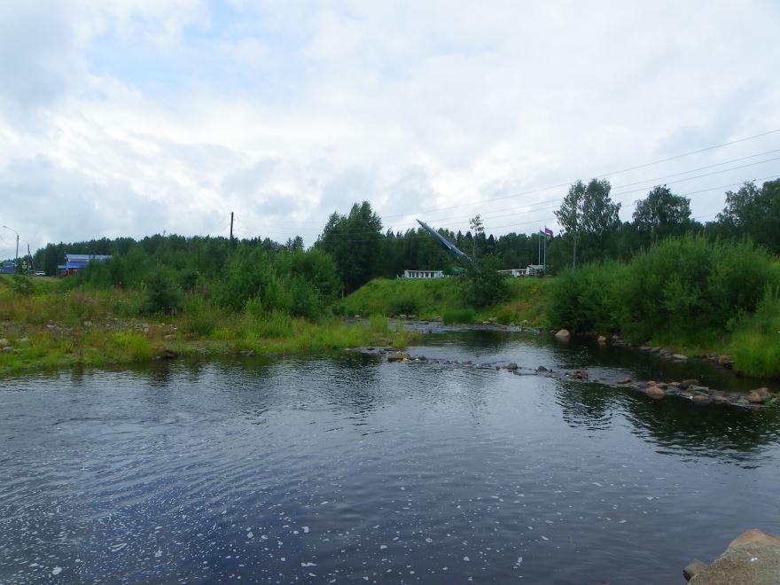 Река Вилга приток реки Шуя
