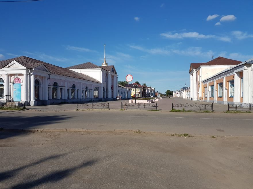 Торговая площадь город Шуя