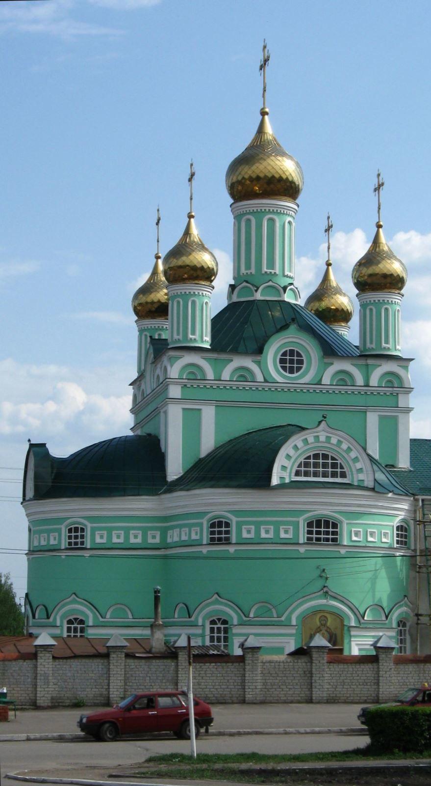 Свято Троицкий собор город Щигры
