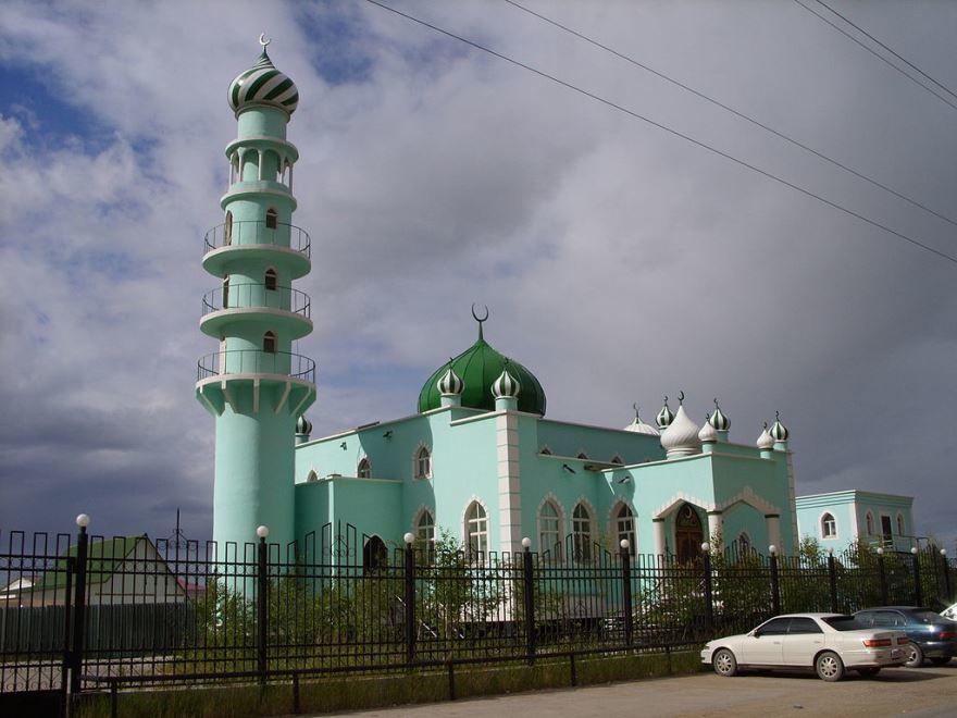 Мечеть город Якутск