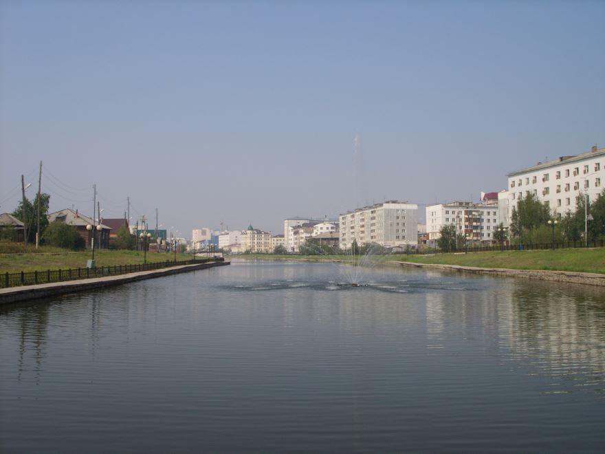 Озеро Теплое город Якутск 2019