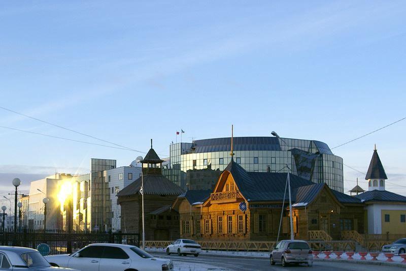 Скачать онлайн бесплатно лучшее фото улица города Якутска в хорошем качестве
