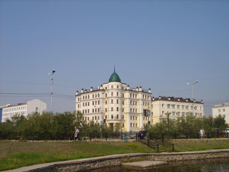 Здание прокуратуры город Якутск