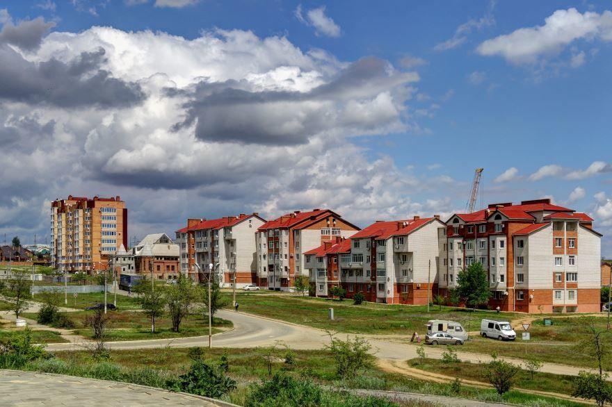 Смотреть красивое фото улица города Элиста