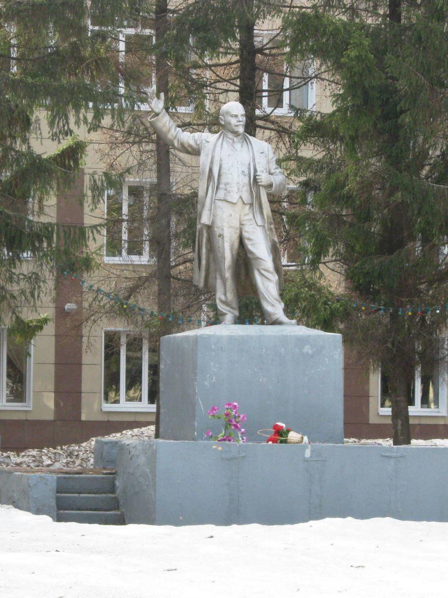 Памятник В.И. Ленину город Ядрин