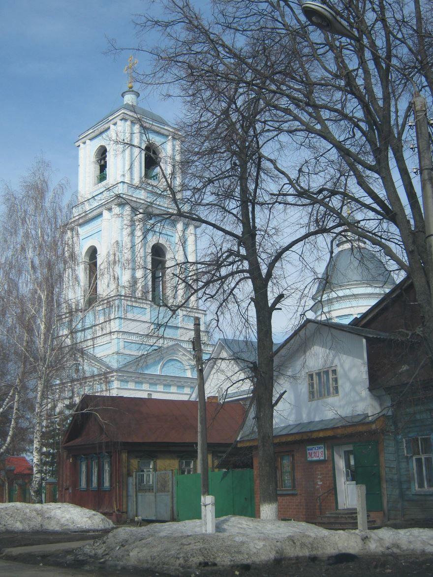 Свято-Троицкая церковь город Ядрин