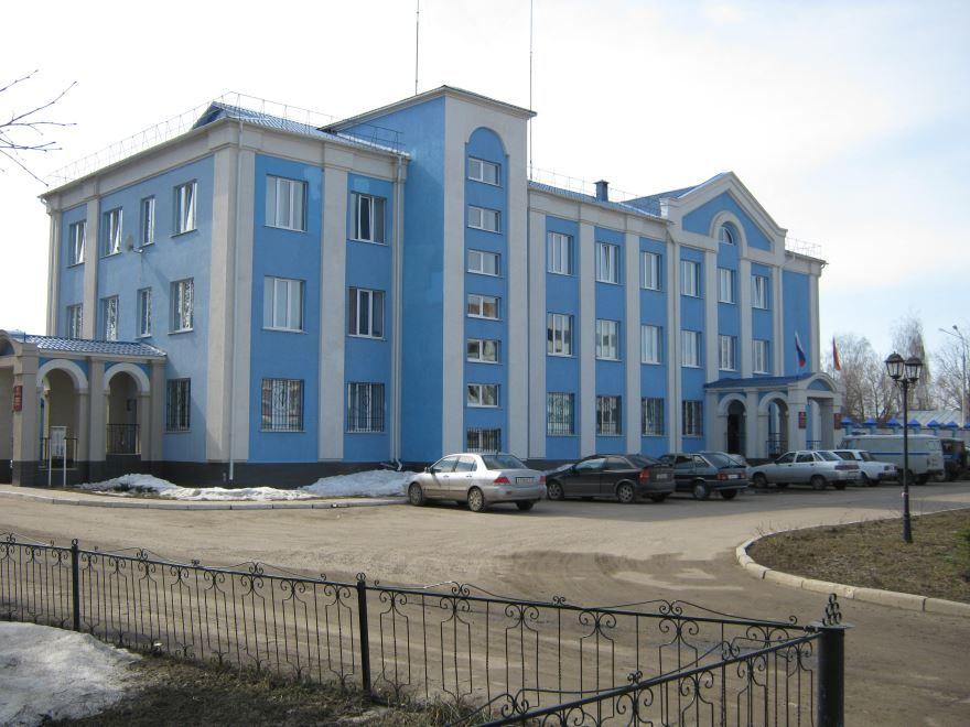 Здание ОВД Ядринского района