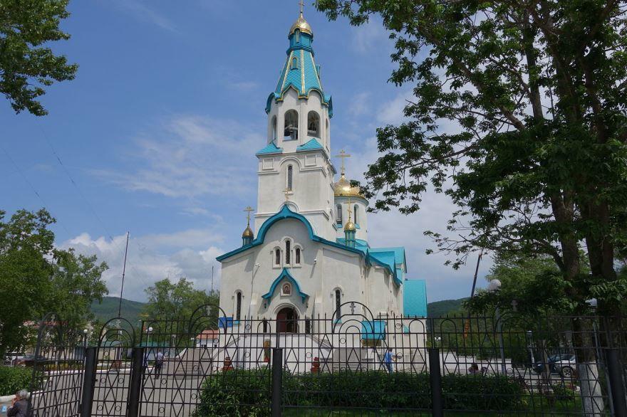 Вознесенский собор город Южно-Сахалинск