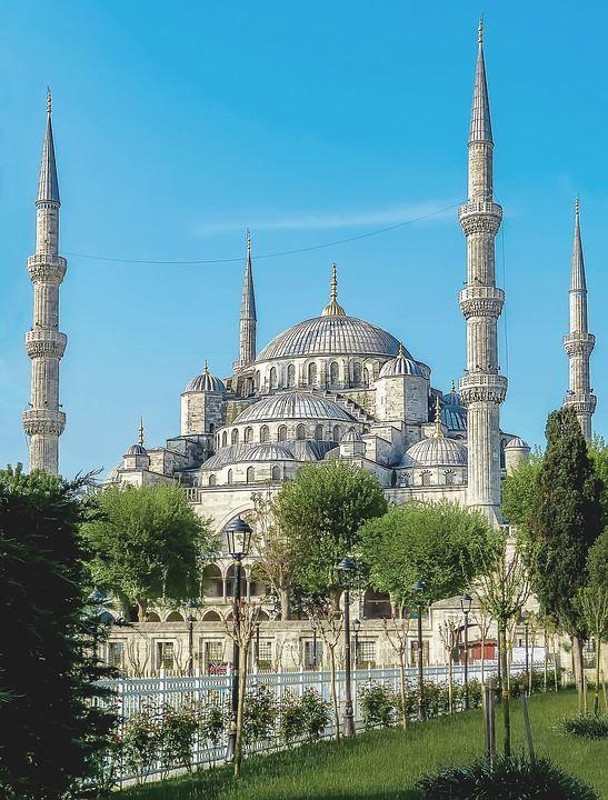 Мечеть город Стамбул Турция