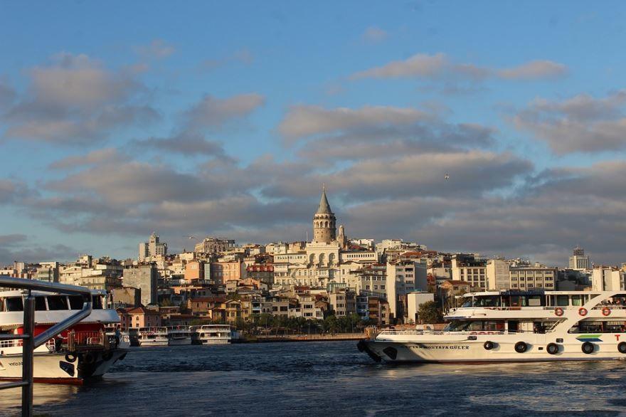 Смотреть лучшее фото вид на город Стамбул 2019 в хорошем качестве