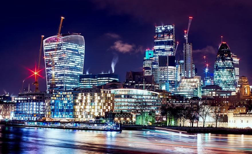 Смотреть лучшее ночное фото города Лондон в хорошем качестве