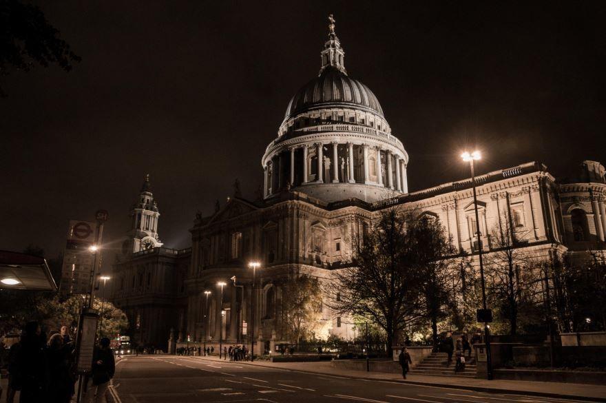 Собор Святого Павла город Лондон