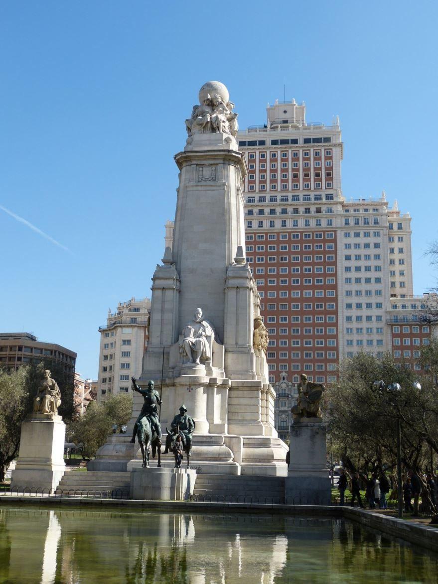 Скачать онлайн бесплатно лучшее фото достопримечательности города Мадрида в хорошем качестве