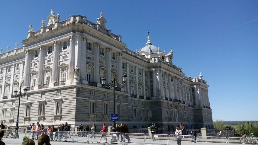 Королевский Дворец город Мадрид