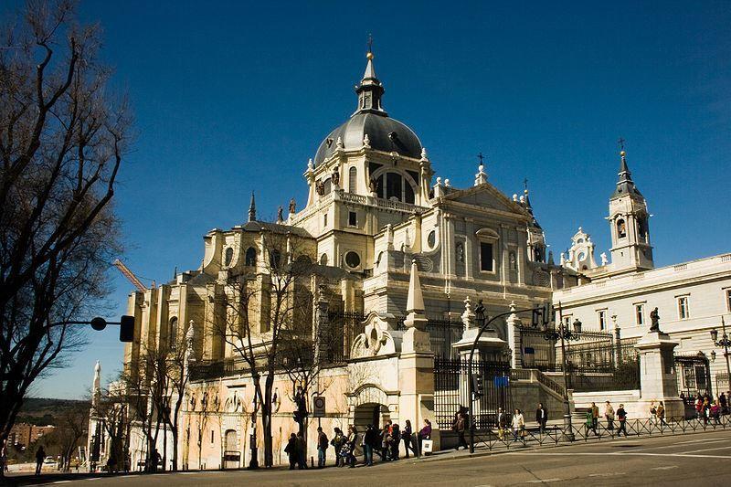 Собор Альмудена город Мадрид Испания