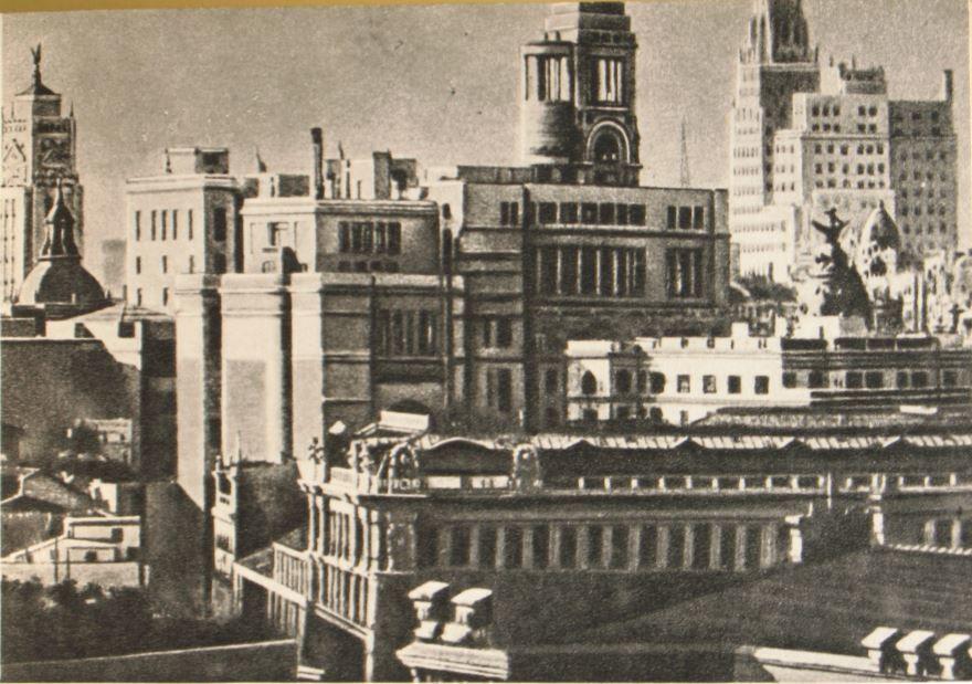 Смотреть лучшее старинное фото города Мадрида в хорошем качестве
