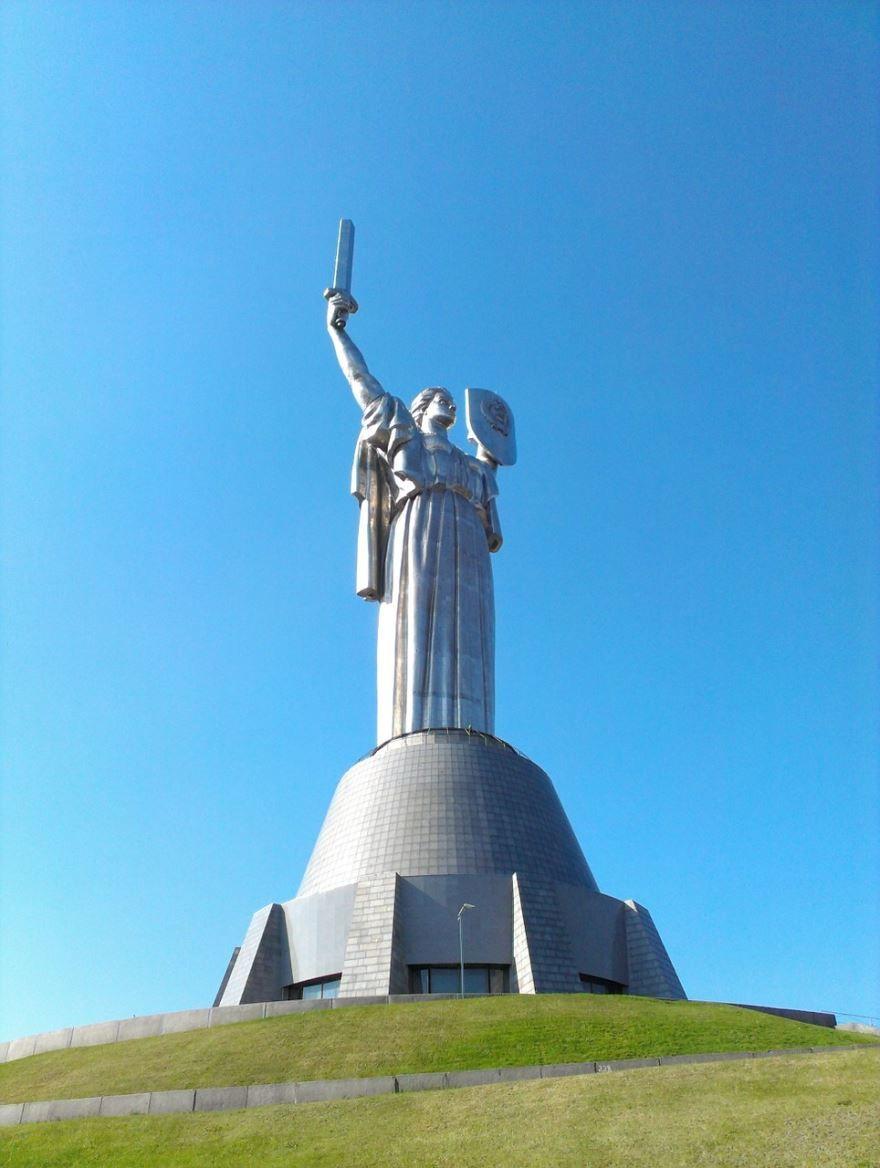 Смотреть лучшее фото города Киев Памятник Родина Мать