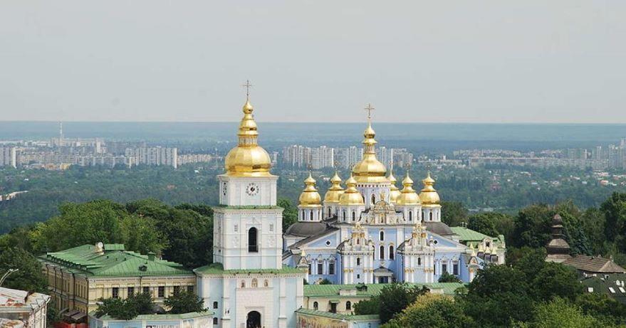 Михайловский собор город Киев