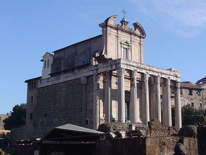 Смотреть красивое фото храм город Рим Италия