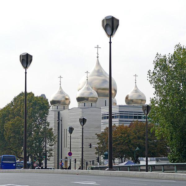 Православный собор Святой Троицы город Париж
