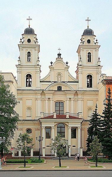 Католический костел Пресвятой Девы Марии город Минск