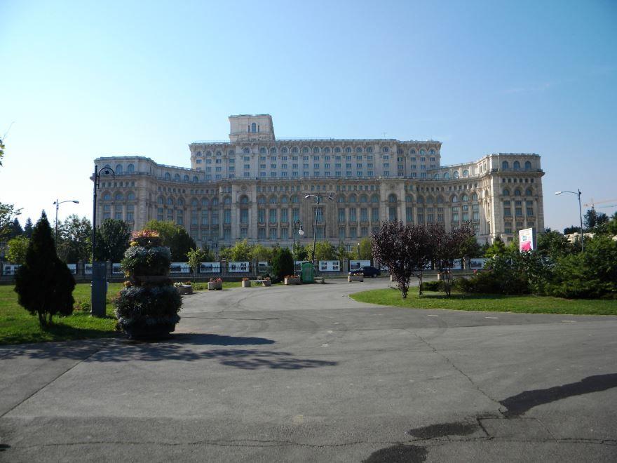 Палата депутатов Румынии город Бухарест