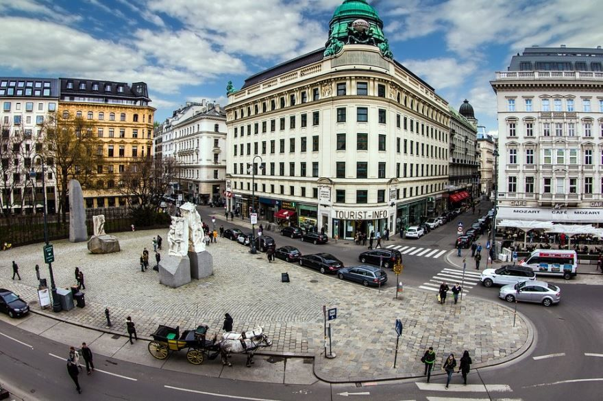 Центр города Вена Австрия