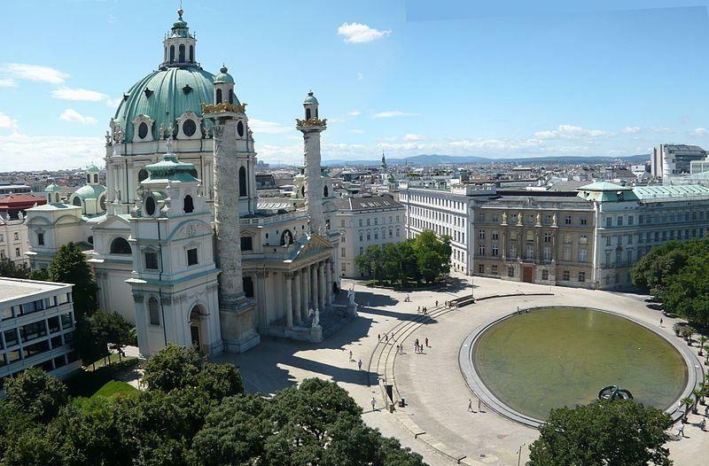 Смотреть красивое фото города Вена в хорошем качестве