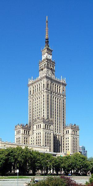 Дворец культуры и науки город Варшава Польша