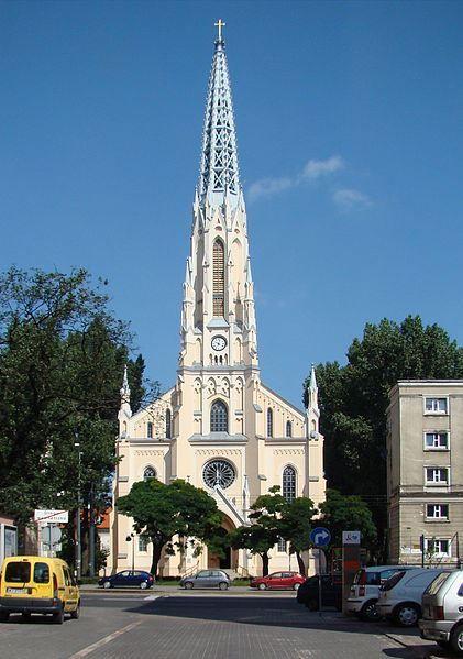 Евангельская реформатская церковь в городе Варшава