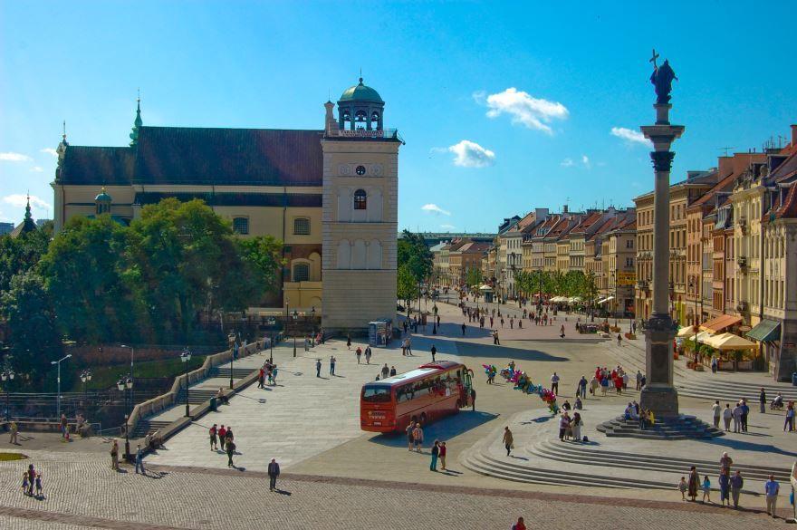 Скачать онлайн бесплатно лучшее фото города Варшава в хорошем качестве