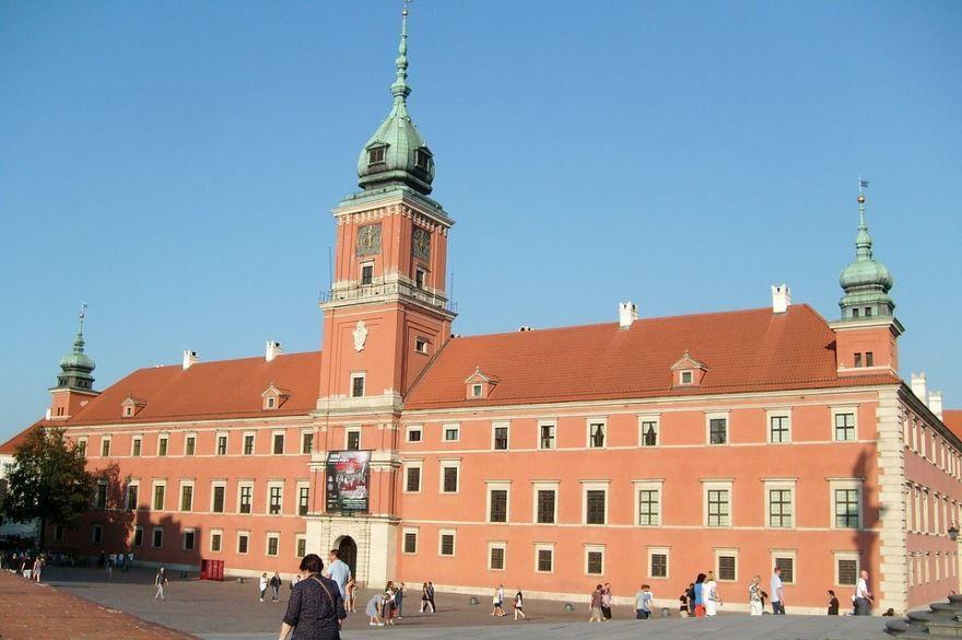 Смотреть красивое фото город Варшава