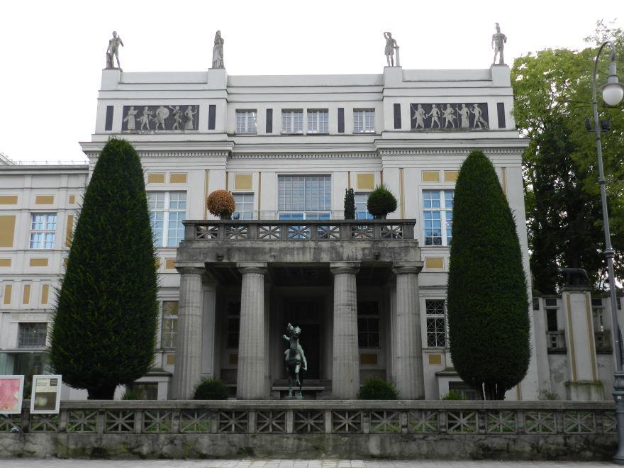 Красивая архитектура города Мюнхена
