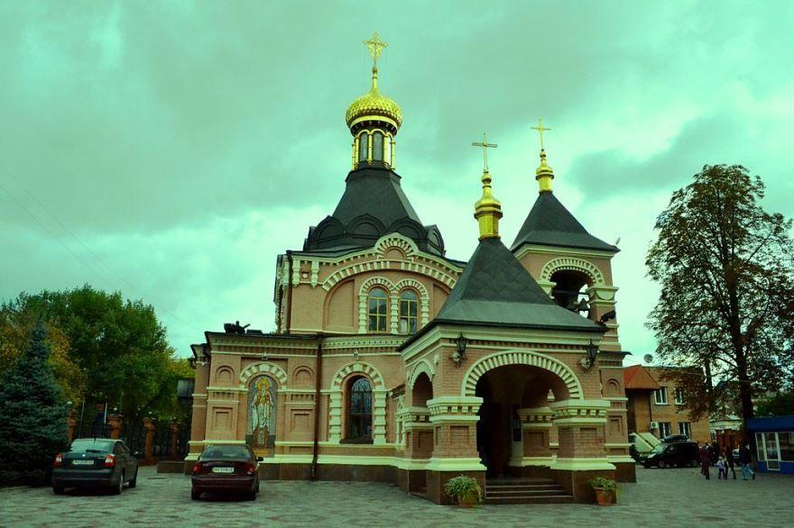 Храм Александра Невского город Харьков