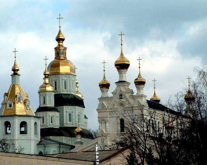 Покровский собор и архиерейский дом город Харьков