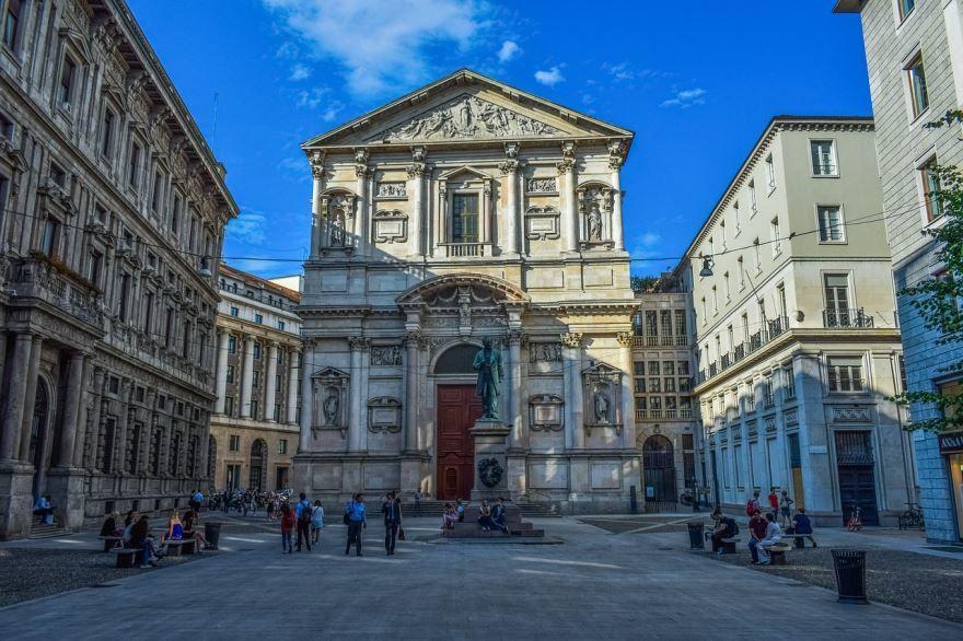 Смотреть красивое фото города Милан бесплатно