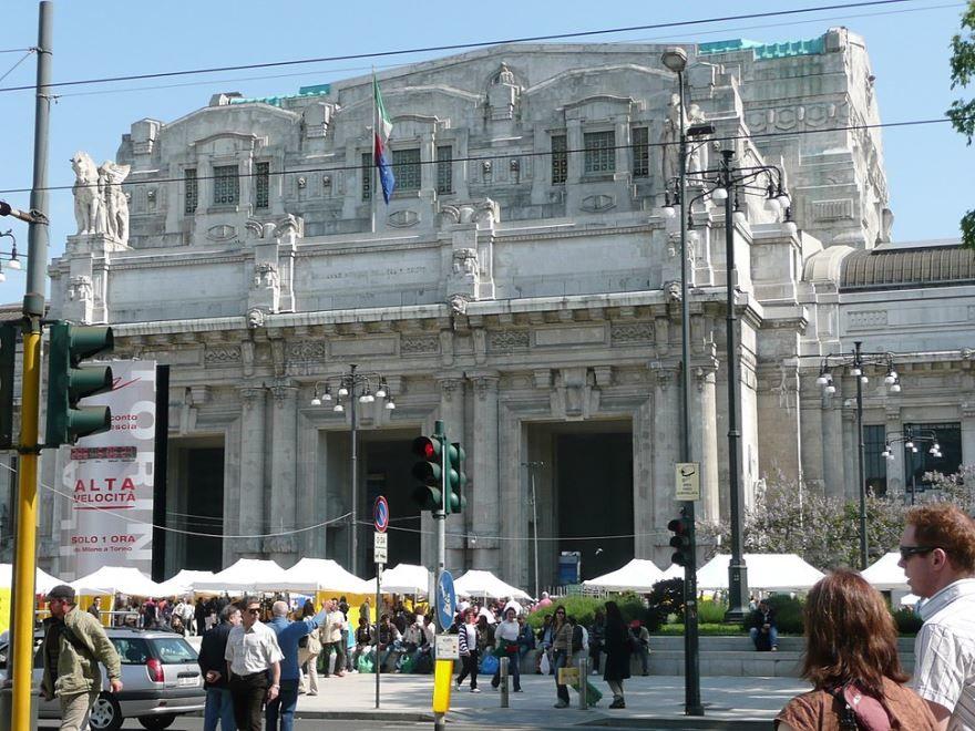 Центральный вокзал город Милан 2019