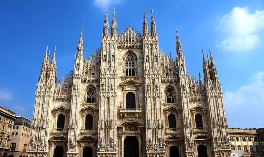 Смотреть красивое фото город Милан