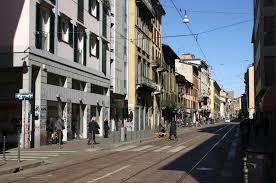 Скачать онлайн бесплатно лучшее фото улица города Милан Италия