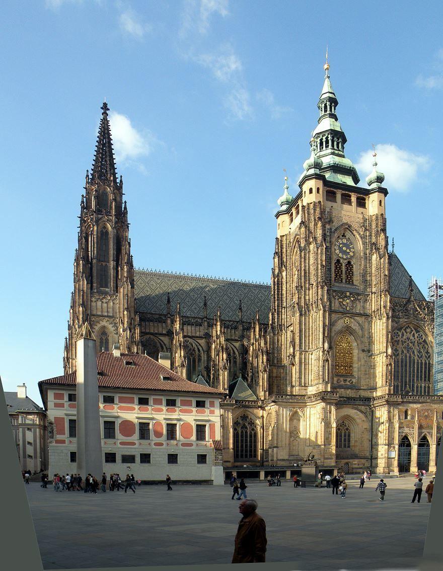 Собор Святого Вита город Прага
