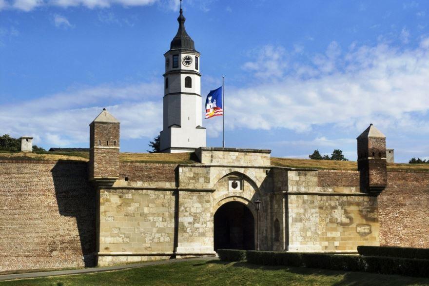 Крепость Калемегдан город Белград