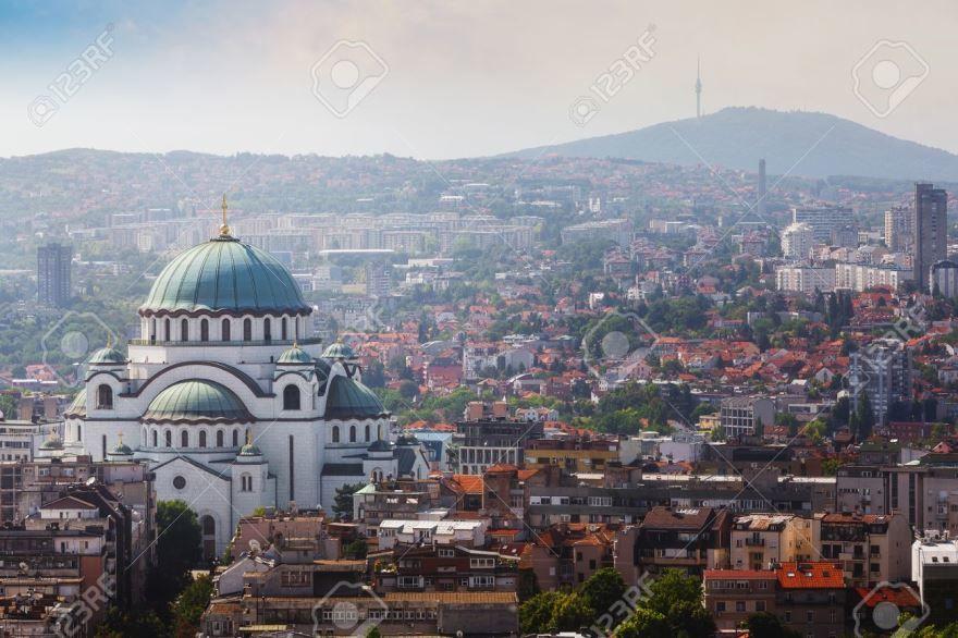 Смотреть красивое фото панорама города Белград в хорошем качестве