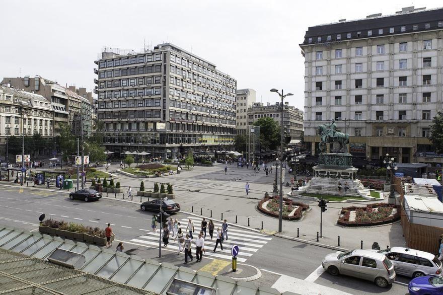Площадь города Белград