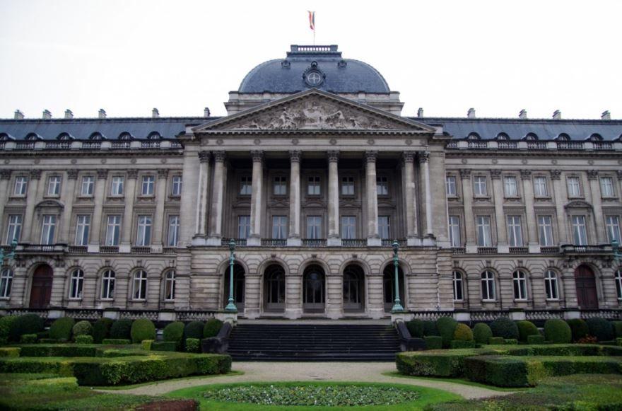 Королевский дворец город Брюссель