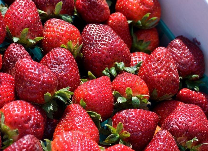 Купить фото ягод клубники? Скачайте бесплатно