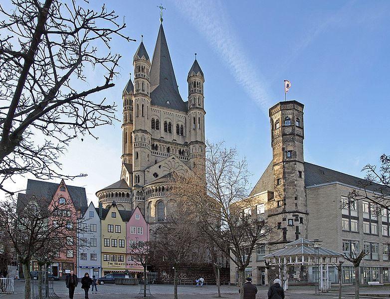 Церковь Гросс город Кельн