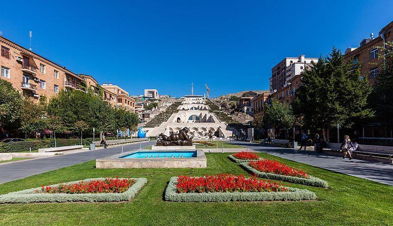Скачать онлайн бесплатно лучшее фото достопримечательности города Ереван в хорошем качестве