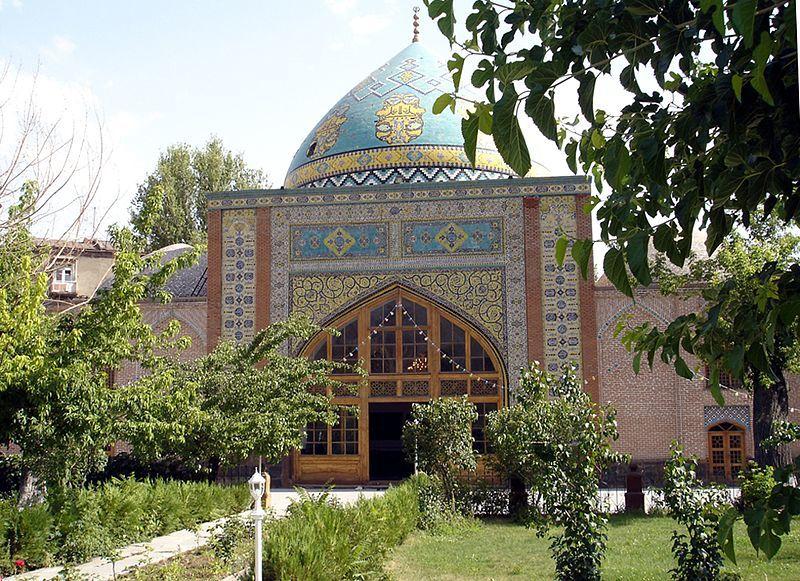 Синяя мечеть город Ереван Армения